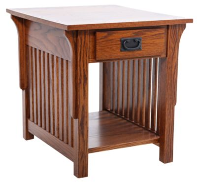 Woodco Mission End Table with Drawer