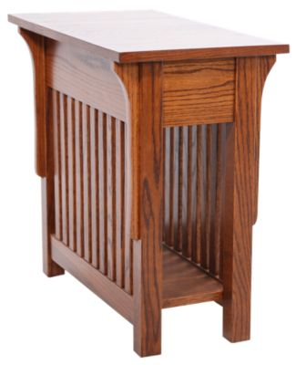Woodco Mission Chairside Table