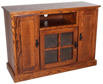 Woodco Mission 45 Inch Solid Wood TV Console