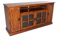 Woodco Mission 65 Inch 4-Door TV Console