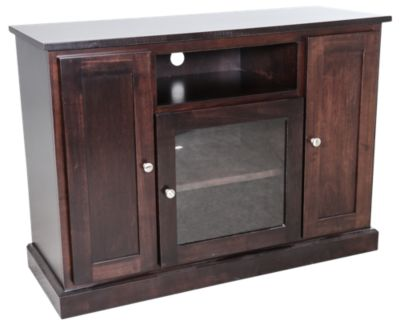 Woodco Maple 45 Inch 3-Door TV Console