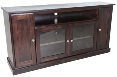Woodco Maple 65 Inch 4-Door TV Console