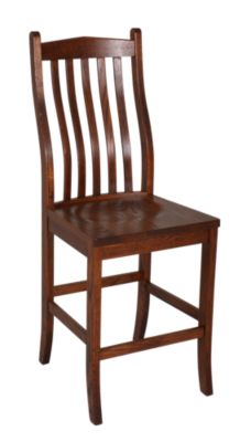 Woodco Solid Oak Counter Stool