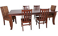 Woodco Rustic Table & 6 Chairs