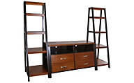 Whalen Llc Waco 3-Piece Wall Unit