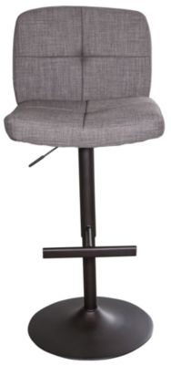 Whalen Llc Harris Gas-Lifted Taupe Bar Stool