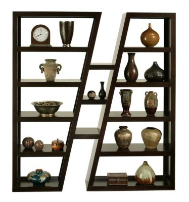 Whalen Llc Parkview Angled Bookcase