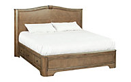 Whittier Wood Stonewood Queen Storage Bed
