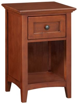 Whittier Wood McKenzie 1-Drawer Nightstand