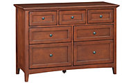 Whittier Wood McKenzie 7-Drawer Dresser