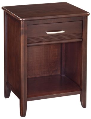 Whittier Wood Pacific 1-Drawer Nightstand