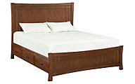 Whittier Wood Prairie City California King Panel Storage Bed