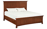 Whittier Wood Prairie City King Mantel Bed