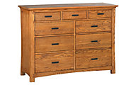 Whittier Wood Prairie City 9-Drawer Dresser