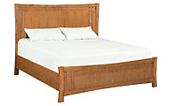 Whittier Wood Prairie City King Panel Bed