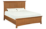 Whittier Wood Prairie City California King Mantel Bed