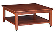 Whittier Wood McKenzie Cherry Coffee Table