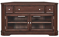 Whittier Wood McKenzie 54-Inch Coffee Corner Console