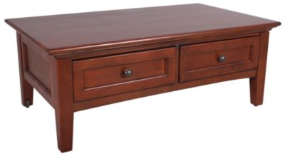 Whittier Wood McKenzie Coffee Table