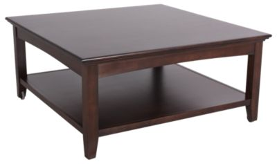 Whittier Wood McKenzie Solid Wood Coffee Table