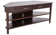 Whittier Wood Stayton Corner Media Console