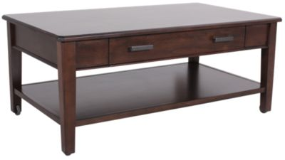 Whittier Wood Stayton Solid Wood Coffee Table