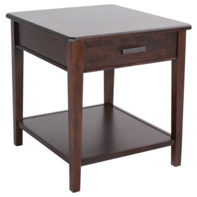 Whittier Wood Stayton Solid Wood End Table