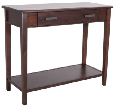 Whittier Wood Stayton Solid Wood Entry Table
