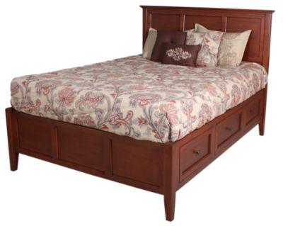 Whittier Wood Mckenzie Queen Storage Bed Homemakers