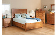 Whittier Wood Prairie City 4-Piece Queen Storage Bedroom Set