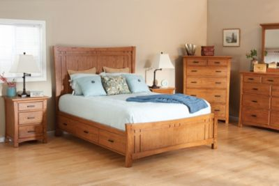 Whittier Wood Prairie City 4-Piece King Storage Bedroom Set
