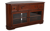 Whittier Wood McKenzie Corner Media Console