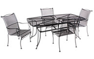 Woodard Rialto 5-Piece Dining Set