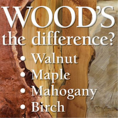 Know Your Wood Types Part 1 Infographic