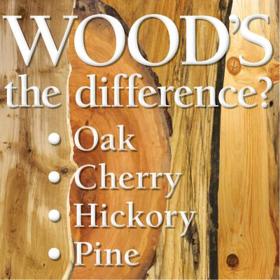Know Your Wood Types Part 2 Infographic