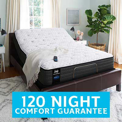 120 night mattress comfort guarantee