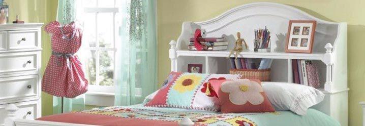 Fabric Kids\' Headboards | Homemakers