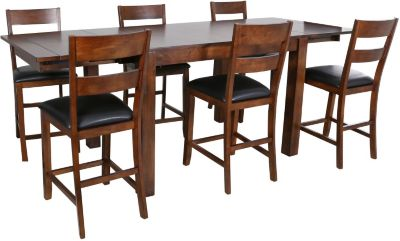 A America Mariposa Counter Table & 6 Stools