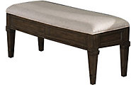 A America Gallatin Leg Storage Bench