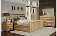 A America Adamstown 4-Piece Queen Storage Bedroom Set