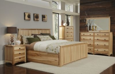 A America Adamstown 4-Piece King Storage Bedroom Set