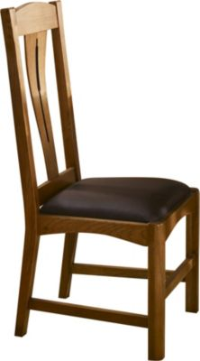 A America Cattail Bungalow Warm Amber Side Chair
