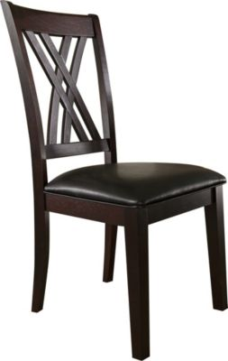 A America Montreal Double X Back Side Chair
