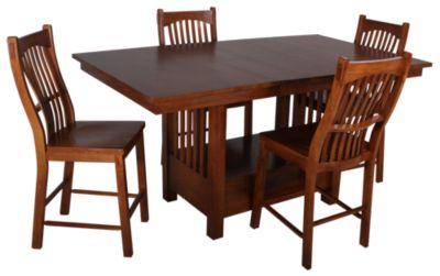 A America Laurelhurst Counter Height 5 Piece Dining Set