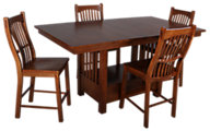 A America Laurelhurst Counter Height 5 Piece Dining Set