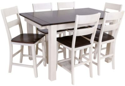 A America Mariposa 7-Piece Counter Dining Set