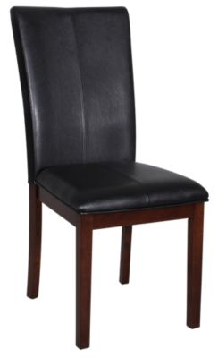 A America Parsons Black Parsons Chair