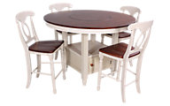 A America British Isles Counter Table & 4 Stools