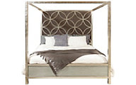 Accentrics Home City Chic King Canopy Bed