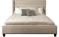 Accentrics Home City Chic Queen Upholstered Bed